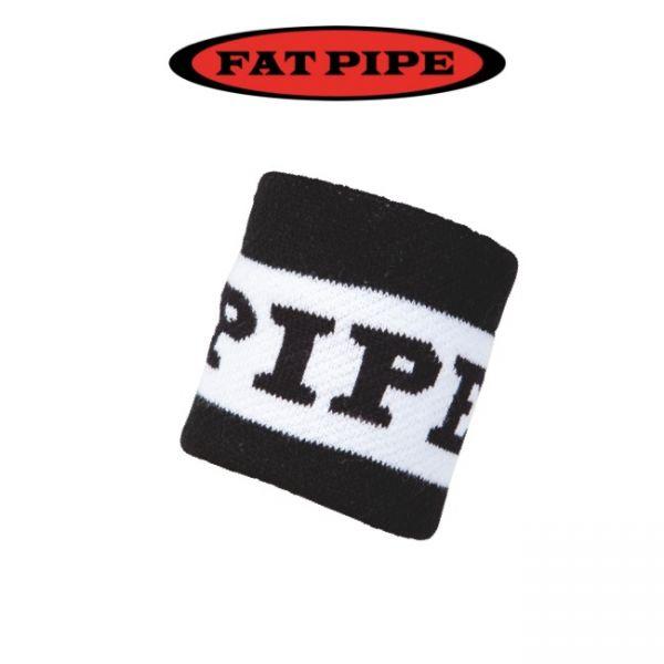 Fatpipe Schweißband BUGATTI schwarz/weiß (2er Pack)