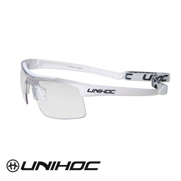 Unihoc Sportbrille ENERGY Senior weiß