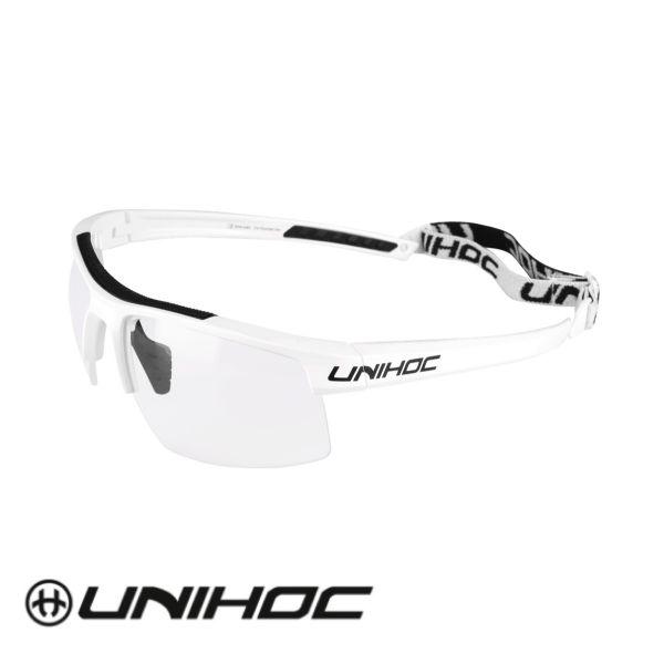 Unihoc Glasses ENERGY Senior white/black