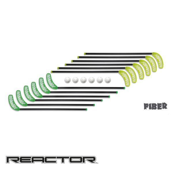 Floorball Set - Reactor Fiber