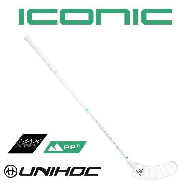 Unihoc ICONIC TITAN Superskin Max 29 weiß