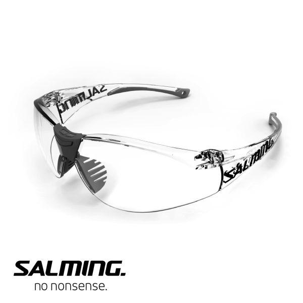 Floorball Schutzbrille Salming Sportbrille SPLIT VISION Junior grau