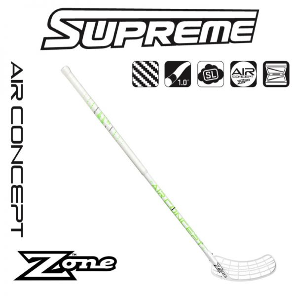 Floorball Stick - Zone HYPER AIR Superlight Curve 2.0° 27 schwarz