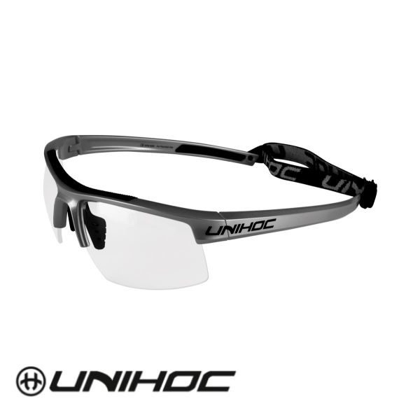 Unihoc Glasses ENERGY Senior graphite/black