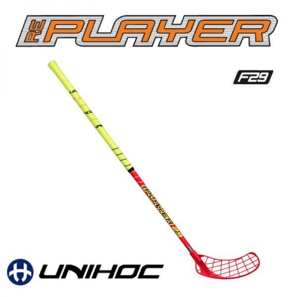 Unihockey Schläger - Unihoc REPLAYER 29 rot