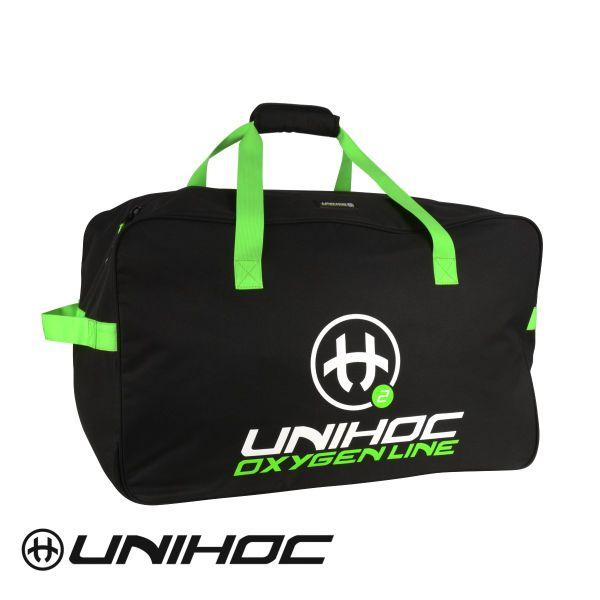 Unihoc Teambag OXYGEN LINE Schwarz/Grün