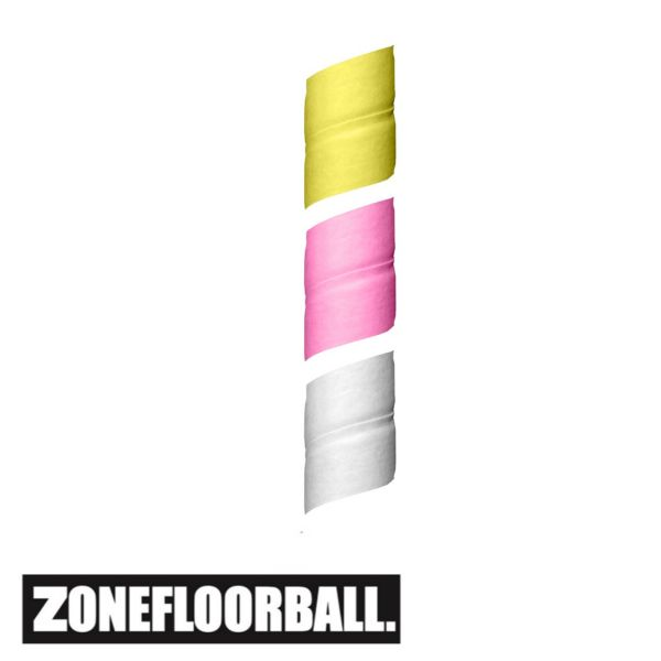 Zone Grip OVER TOP Part (3er Pack) weiß/pink/gelb