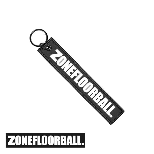 Zone Schlüsselanhänger ZONEFLOORBALL schwarz