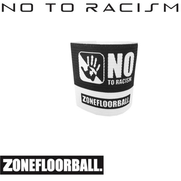 ZONE Kapitänsbinde NO TO RACISM Schwarz/Weiß