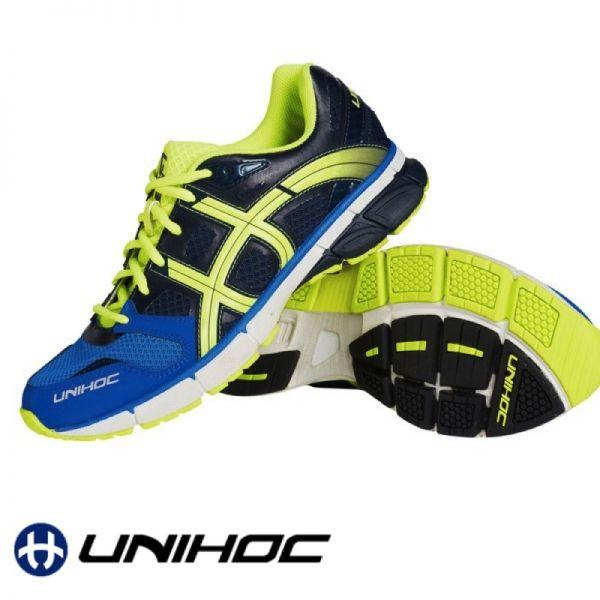 Unihoc Schuh U3 RUNNER TRX blau