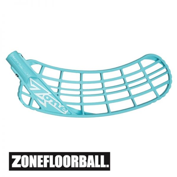 Floorball Kelle Zone ZUPER AIR Soft Feel Medium türkis