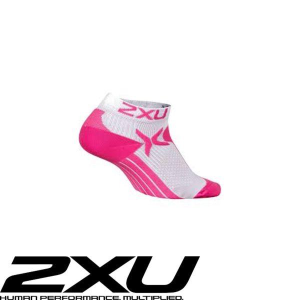 2XU PERFORMANCE Lady Low Rise Sock pink
