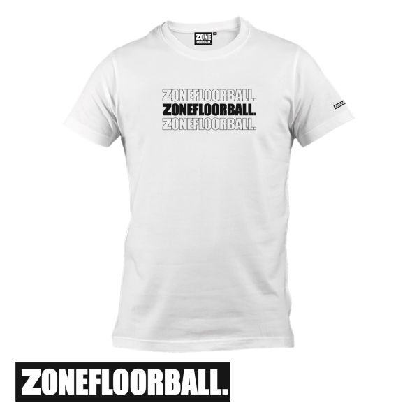 Zone T-Shirt STATEMENT weiß