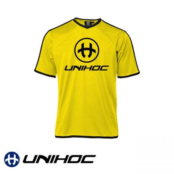 Unihoc Trikot DOMINATE neon gelb