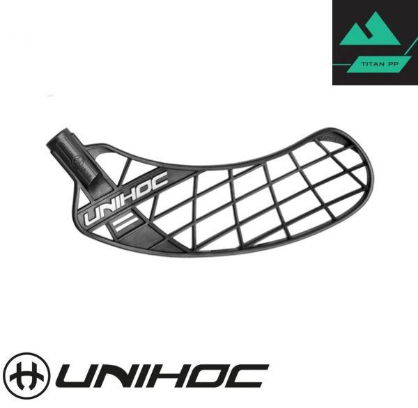 Unihoc UNITY TITAN Hart schwarz