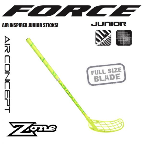 Zone FORCE AIR Jr. 35 gelb