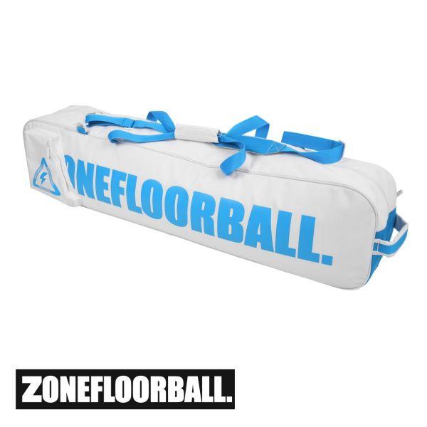Zone Toolbag CARRYALL weiß/blau (20 Schläger)