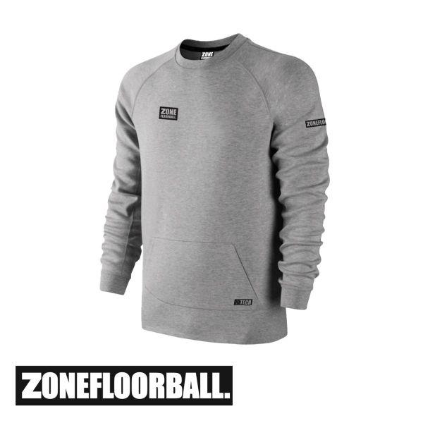 Zone Pullover HITECH grau