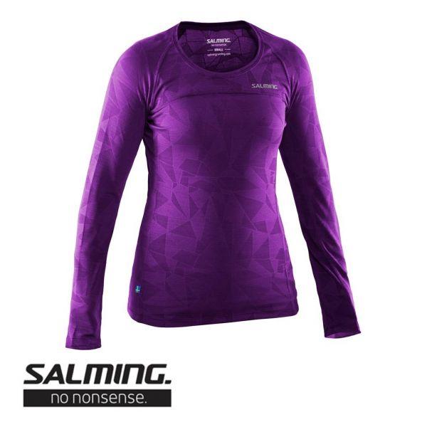 Salming Running LongSleeve Top Women lila