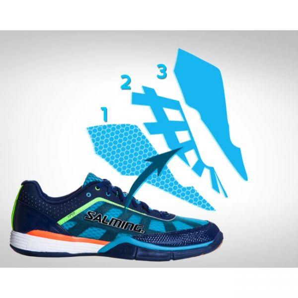 Salming Schuh VIPER 2.0 Blau/Türkis