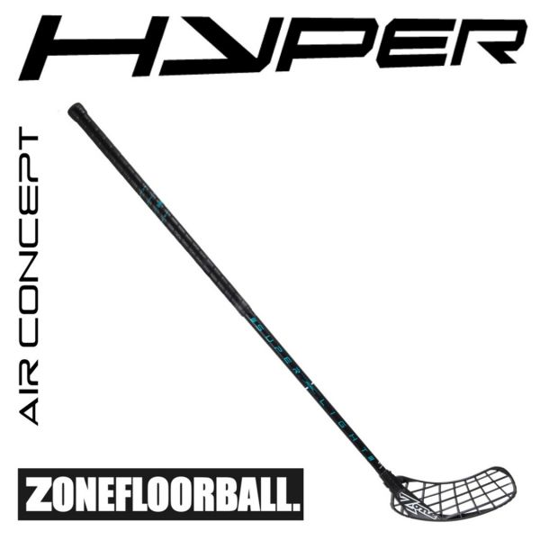 Zone HYPER AIR Superlight 29 Black Edt. schwarz/türkis
