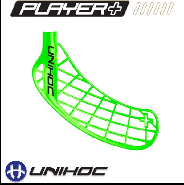 Unihoc PLAYER+ Medium grün