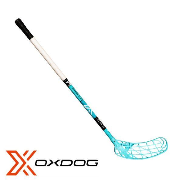Kinder Floorball Schläger - Oxdog AVOX Fusion 32 türkis