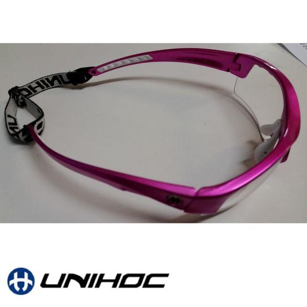 Unihoc Sportbrille VICTORY Junior neon pink