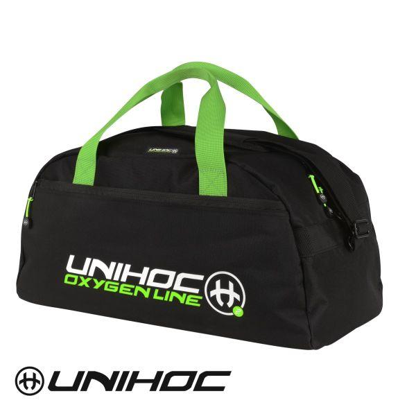 Unihoc Sporttasche OXYGEN LINE klein Schwarz/Grün