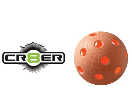 Offizieller WM-Floorball Unihoc CR8TER orange - In Sets verfügbar