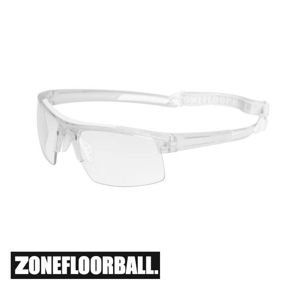 Zone Sportbrille PROTECTOR Junior transparent/weiß