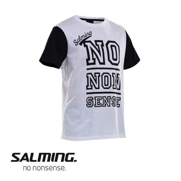 Salming T-Shirt GRAPHIC TEE Weiß - Brust