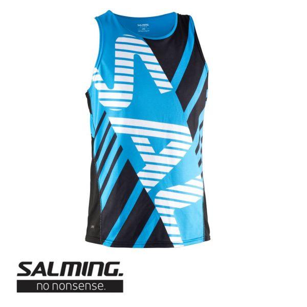 Salming Running Race Singlet blau - vorne