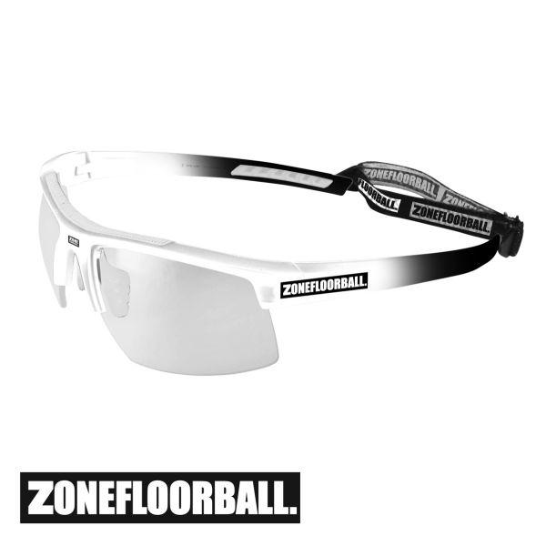 Zone Sportbrille PROTECTOR Junior weiß/schwarz
