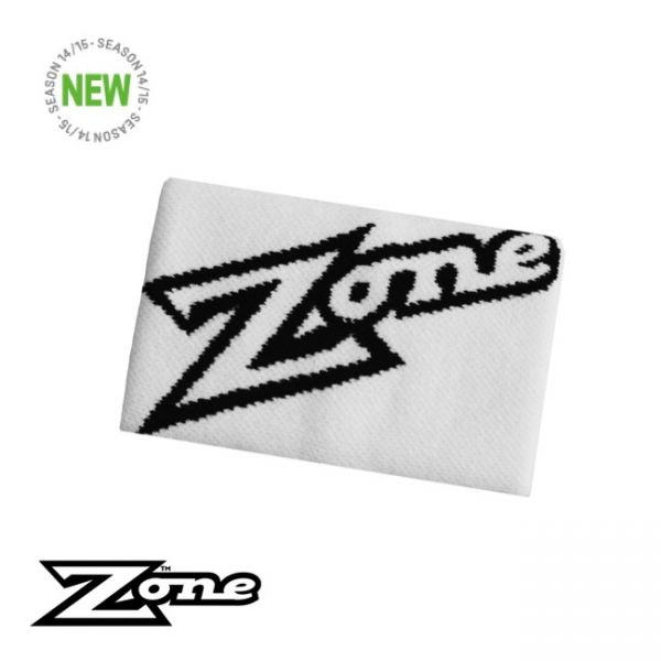Zone Schweißband MEGA weiß