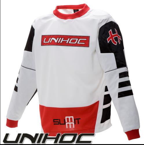 Unihoc SUMMIT TW-Pullover weiß/schwarz