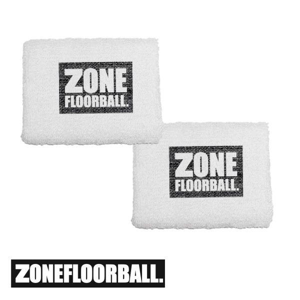Zone Floorball Schweißband weiß