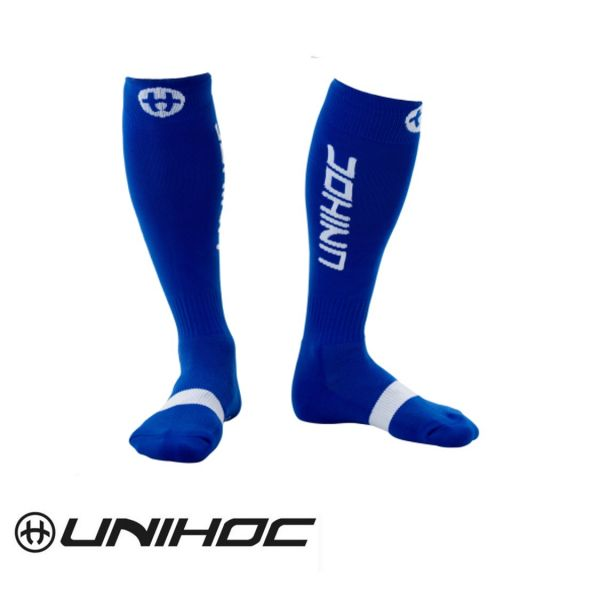 Unihoc Stutzen BADGE blau
