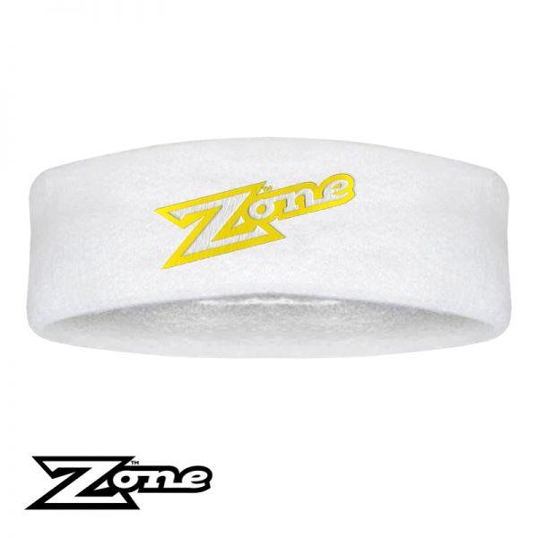 Zone Stirnband OLD SCHOOL weiß