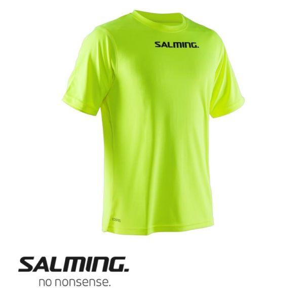Salming FOCUS TEE neon gelb - vorne