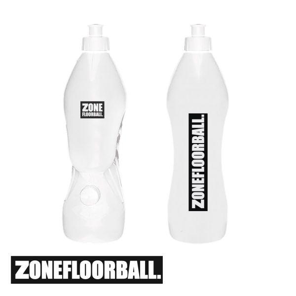 Zone Trinkflasche PURE DUAL weiß (1L)
