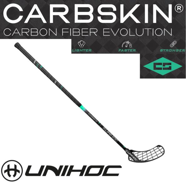 Unihoc SONIC CARBSKIN FeatherLight 26 schwarz