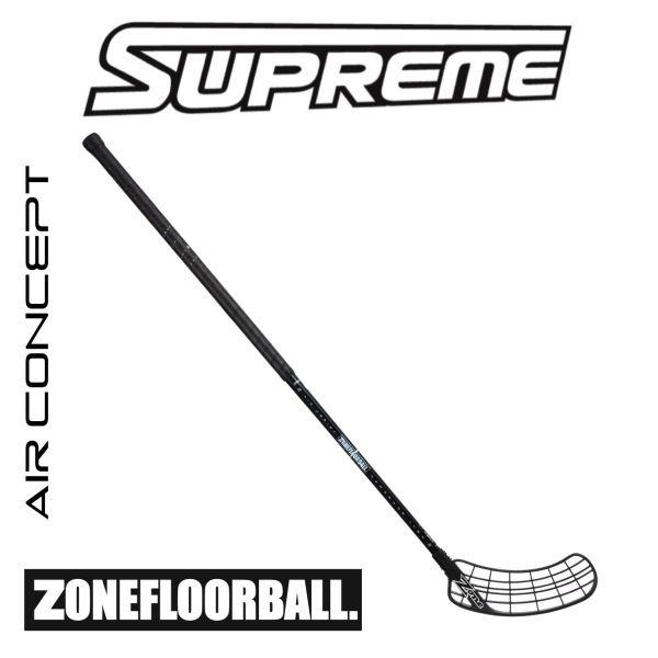 Floorball Schläger Zone SUPREME AIR Superlight 28 schwarz/hologram