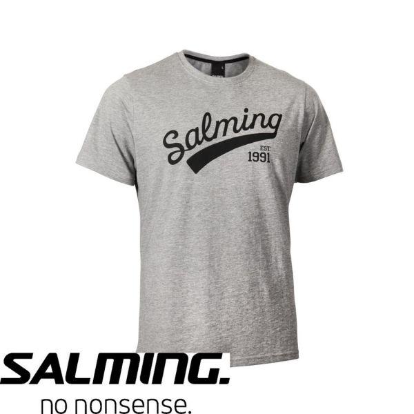 Salming T-Shirt LOGO TEE Grau