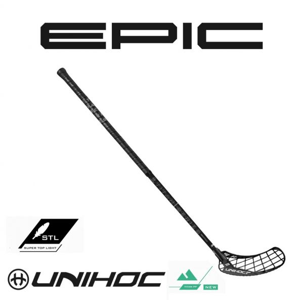Unihoc EPIC TITAN SuperTopLight 27 JAMASI Edition schwarz