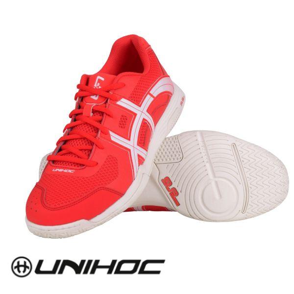 Floorball Schuh Unihoc U3 ELITE MEN rot weiß
