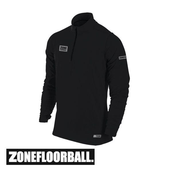 Zone T-Shirt HITECH Long Sleeve schwarz