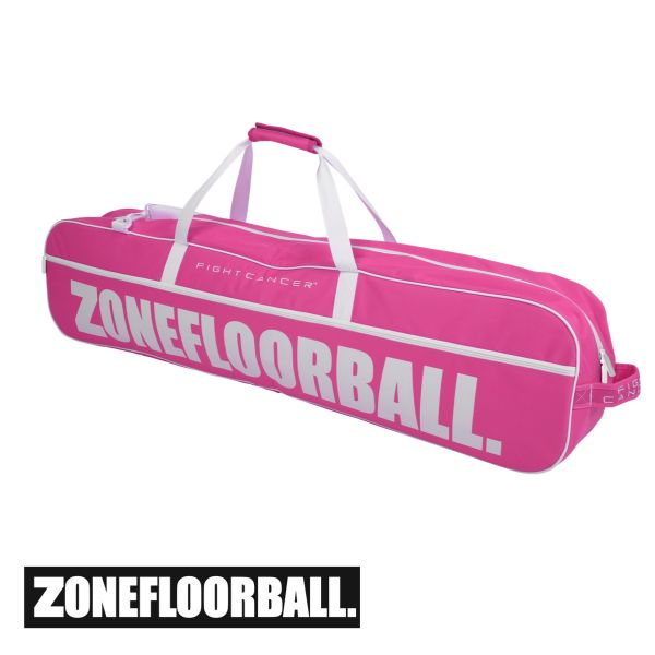Zone Toolbag FIGHT CANCER 4 pink (20 Schläger)