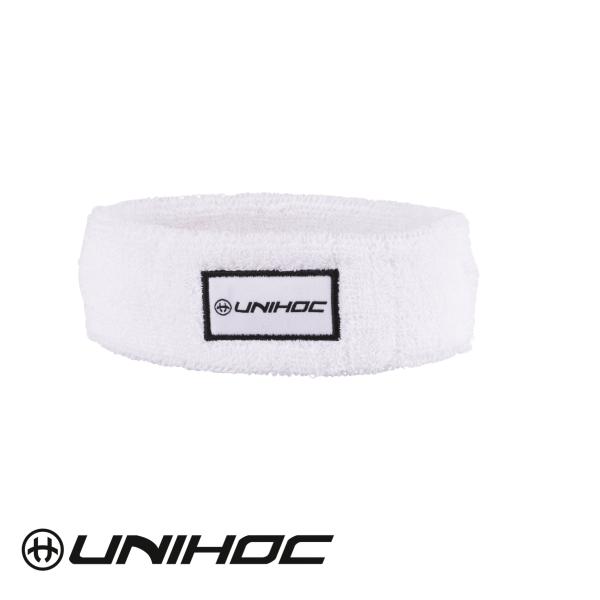 Unihoc Stirnband TERRY weiß