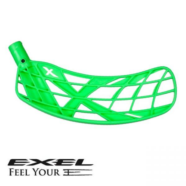 Floorball Kelle - Exel X Soft neon grün